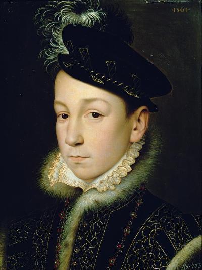 Charles IX (1550-74)-Francois Clouet-Giclee Print
