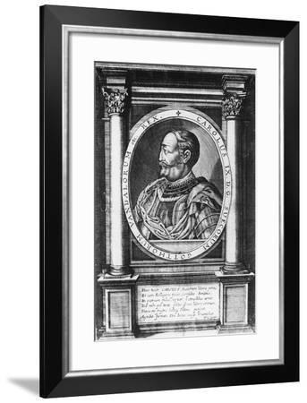 Charles IX, King of Sweden--Framed Giclee Print