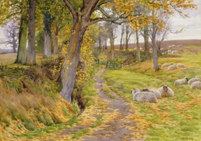 An Autumn Afternoon by Charles James Adams