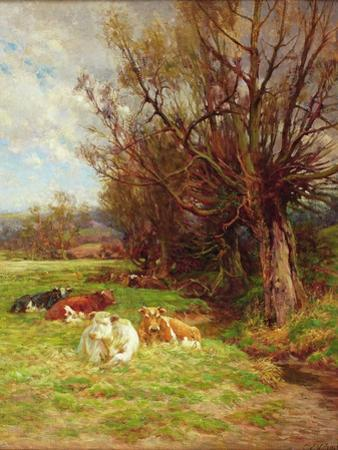 Cattle Grazing by Charles James Adams