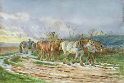 Homeward Bound by Charles James Adams