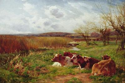 In the Meadow by Charles James Adams
