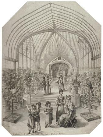 Conservatory of the Pantheon, Oxford Street, Westminster, London, C1830