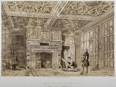Interior of the Old House, Gravel Lane, City of London, 1840