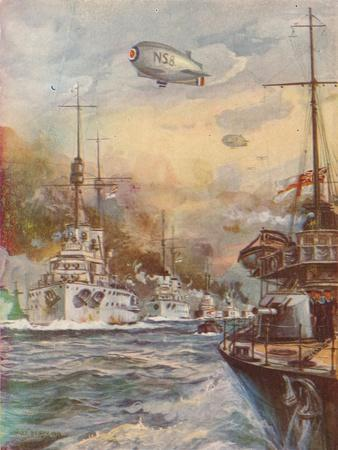 'The Surrender of the German High Seas Fleet', 1918 (1919)
