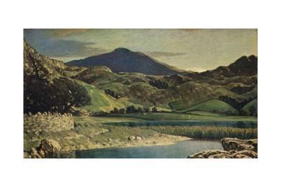'Watendlalh Tarn, near Kewsick', 1919 (1931)