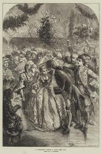 A Christmas Dance a Long Time Ago by Charles Joseph Staniland