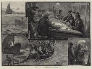 Channel Pilots at Work by Charles Joseph Staniland
