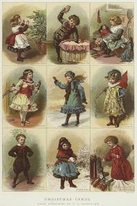 Christmas Cards by Charles Joseph Staniland