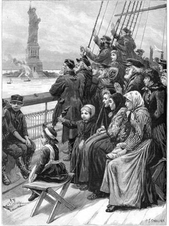 Entering the New World, 1892
