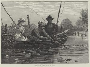 Fishing on the Norfolk Broads by Charles Joseph Staniland
