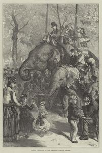 Monday Afternoon at the Zoological Society's Gardens by Charles Joseph Staniland
