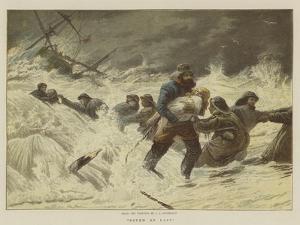 Saved at Last by Charles Joseph Staniland