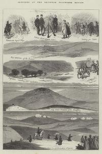 Sketches at the Brighton Volunteer Review by Charles Joseph Staniland