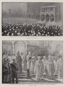 The Coronation of the Czar by Charles Joseph Staniland