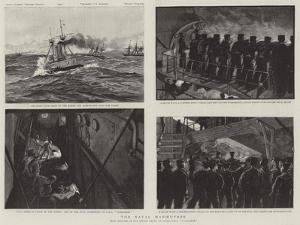The Naval Manoeuvres by Charles Joseph Staniland
