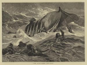 The Overturned Life-Boat by Charles Joseph Staniland