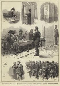 Vote by Ballot, Sketches at the Taunton Election by Charles Joseph Staniland