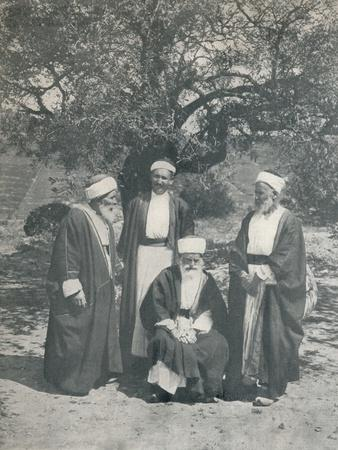 'Druse Chiefs', c1913
