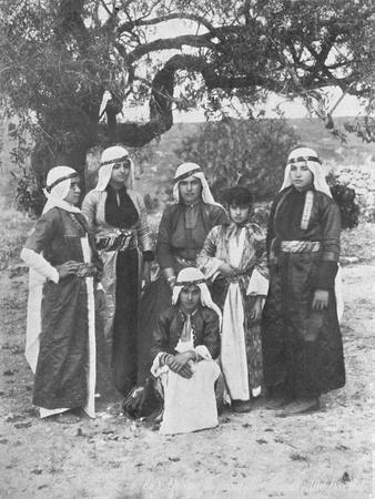 'Group of Druse Ladies', c1913
