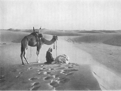 'The Sunset Prayer in the Desert', c1913