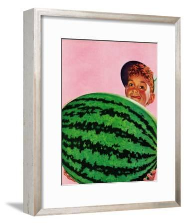 """Big Watermelon,"" August 22, 1942"