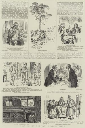 Drawings by the Late Charles Keene