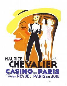 Maurice Chevalier au Casino de Paris II by Charles Kiffer