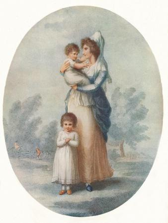 'Lady Rushout and Children', c1795