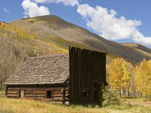 An Abandoned Building in a Colorado Ghost Town by Charles Kogod