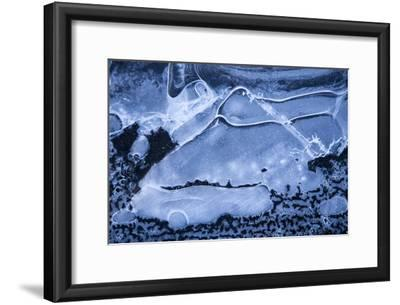 Close Up Detail of Ice on Solheimajokull Glacier