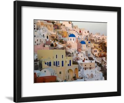The Village of Ia, Built Into the Cliffs and Hillsides of Santorini