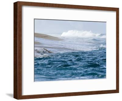 Waves Pound the Shore at Sunset Beach, Oahu Island, Hawaii