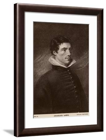 Charles Lamb--Framed Giclee Print