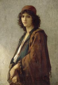 Jeune bohémien serbe by Charles Landelle