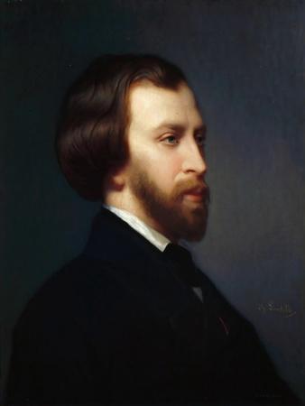 Portrait of Alfred De Musset (1810-185)