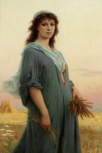 Ruth, 1886 by Charles Landelle