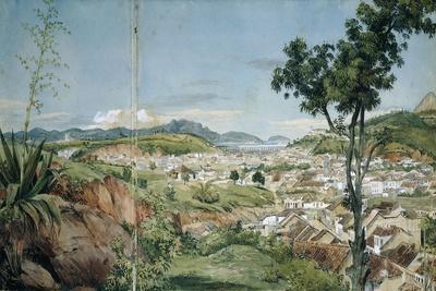 New Town of Rio De Janeiro from the Livramiento, C. 1825-6