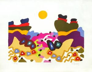 PS - Le désert by Charles Lapicque
