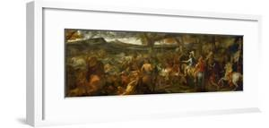 Alexander the Great and Porus, 1673 by Charles Le Brun