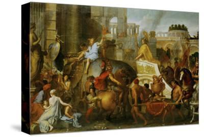 Alexander the Great Enters Babylon