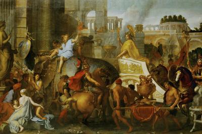 Alexander the Great Enters Babylon