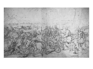 Alexandre et Porus ou La Défaite de Porus by Charles Le Brun