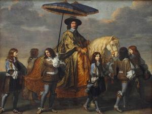 Chancellor Séguier at the Entry of Louis XIV into Paris, 1660 by Charles Le Brun
