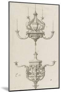 Deux chandeliers by Charles Le Brun