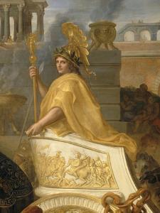 Entrée d'Alexandre le Grand dans Babylone ou Le triomphe d'Alexandre by Charles Le Brun