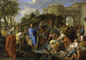 Entrée du Christ à Jérusalem by Charles Le Brun