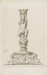 Flambeau by Charles Le Brun