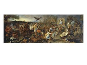 La Bataille d'Arbelles by Charles Le Brun