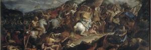 Le passage du Granique by Charles Le Brun